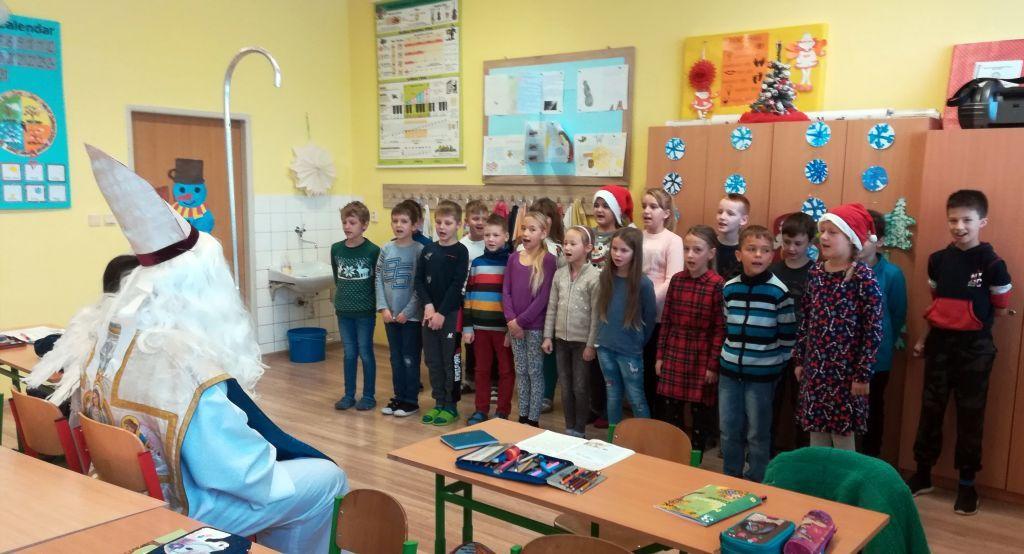 Mikuláš v 3.A triede